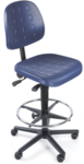Blue Lab Chairs PU Foam