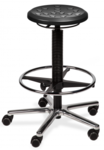 POLI-S Lab Stool Black