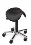 POLI-S Saddle Seat Black